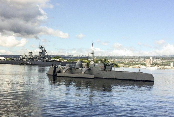 Sea Hunter, совершенно новый класс беспилотных надводных кораблей, разработанный министерством обороны США, успешно завершил автономное плавание из Сан-Диего на Гавайи и обратно.