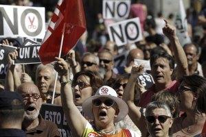 В Іспанії страйкують працівники громадського транспорту