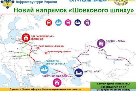 Російське транзитне і торгове ембарго не завадить транспортуванню вантажів на ринки Середньої Азії, - думка