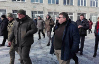 Глава МИД Литвы посетил Авдеевку