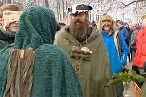 Сотні європейців протестували проти вирубування Біловезької пущі