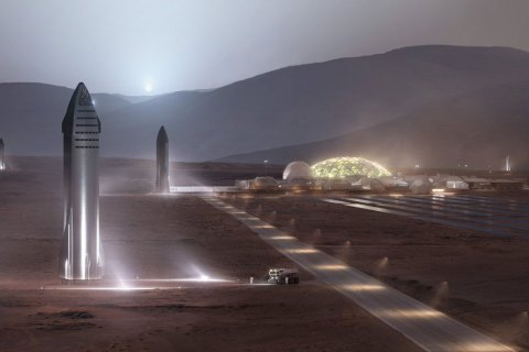 SpaceX перенесла запуск прототипа корабля для полета на Марс
