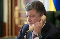 Порошенко и Байден обсудили развитие ситуации вокруг международной гуманитарной миссии для востока