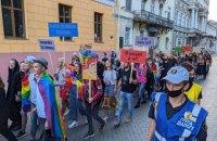 В Одесі відбувся Прайд на підтримку ЛГБТ