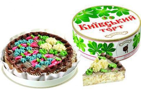 'Рошен подал в суд на'Ашан из-за'Киевского торта