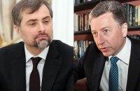 """Лавров пообещал встречу Суркова и Волкера """"в обозримом будущем"""""""
