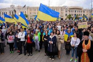 У 60 містах Чехії вивісили українські прапори