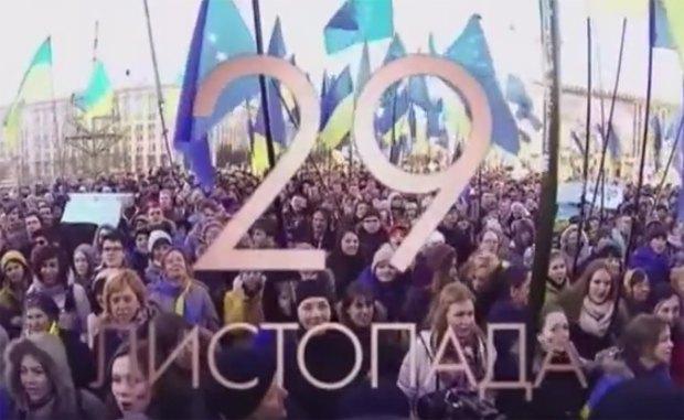 Кадр из фильма <<Евромайдан SOS. Право на достоинство>>