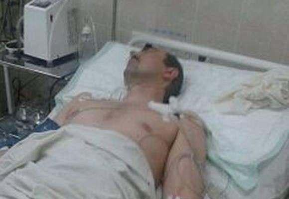 Олексій Замірко у шпиталі