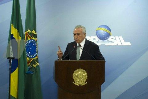 Бразильський суд відхилив звинувачення вкорупції проти президента Темера