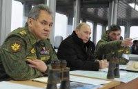 Росія почала військові навчання в прикордонних з Україною районах
