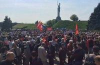 Біля музею ВВВ у Києві міліція затримала 19 осіб (оновлено)