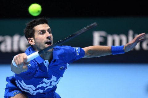 Джокович в дев'ятий раз в кар'єрі вийшов до півфіналу Підсумкового турніру АТР