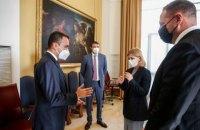 Єрмак і Стефанішина в Римі обговорили ситуацію на Донбасі з головою МЗС Італії