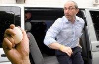 Кернес подвергся яичной атаке