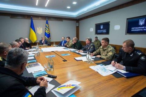 Порошенко доручив домовитися про створення трастового фонду НАТО для надійного зберігання боєприпасів