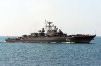 Два военных корабля РФ приблизились к украинской границе во время учений
