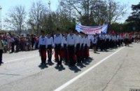 """У Севастополі відбувся парад """"нащадків перемоги"""""""