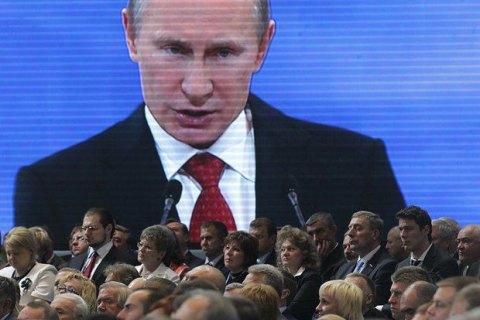 Путін: нікому не вдасться залякати Росію
