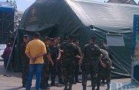 Нацгвардия начала мобилизацию добровольцев на Майдане