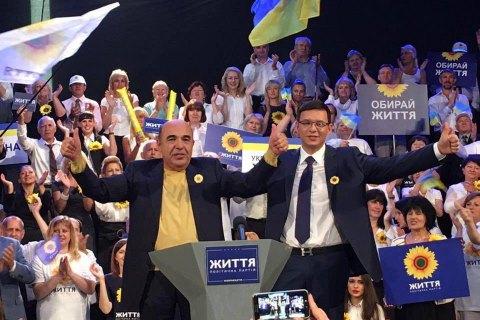 """Рабинович и Мураев перименовали партию """"Центр"""" в """"Жизнь"""""""