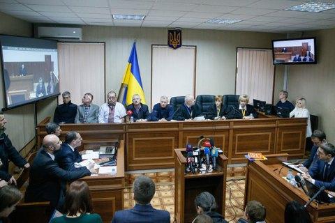 Суд щодо Януковича досліджував докази захисту