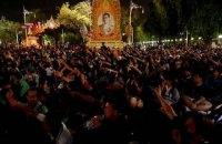 В Таиланде протестующие подрались с полицией на акции в поддержку студента