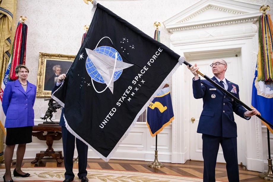 Флаг Космических сил США