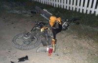 15-річний підліток розбився на мотоциклі в Рівненській області