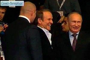 Путин снова встретился с Медведчуком