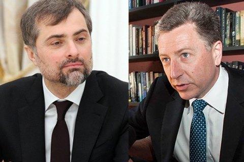 Волкер направил запрос на встречу с Сурковым в конце августа в Москве