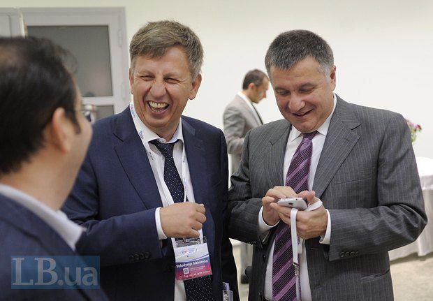 Владимр Макеенко и Арсен Аваков