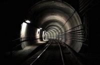 Киевское метро приостанавливало движение поездов на синей линии из-за попытки самоубийства