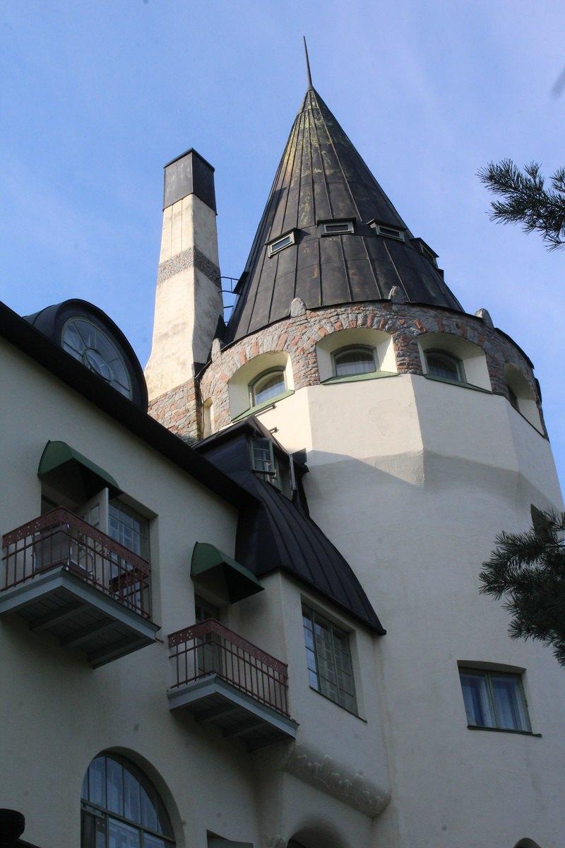 Сучасний вигляд башти в Іматрі