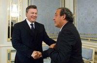 Янукович мріє про Чемпіонат світу з футболу