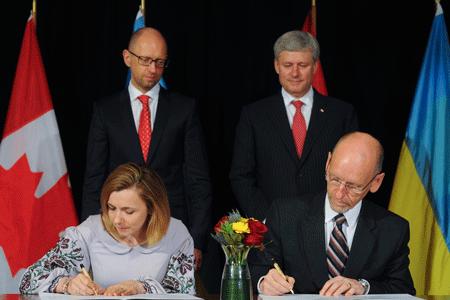 Україна і Канада завершили п'ятирічні переговори про створення ЗВТ
