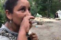 Націоналісти виселили табір ромів з Голосіївського парку в Києві (оновлено)