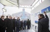 На Майдане открылась выставка проектов мемориала Небесной сотни