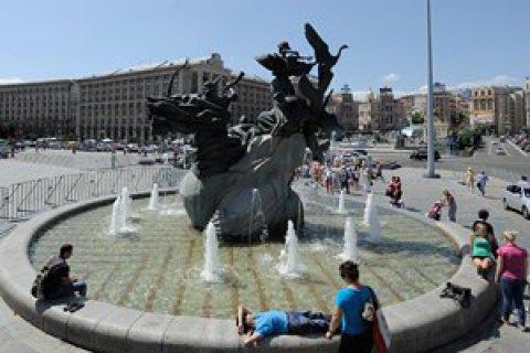 У четвер у Києві посвіжішає до +26 градусів