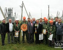 Команда «Донецкоблэнерго» выиграла соревнования энергетиков