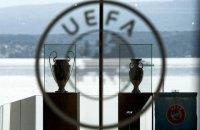 Україна поки що програє в гонитві за життєво важливим 10-м місцем у таблиці коефіцієнтів УЄФА