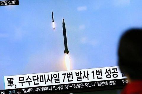 КНДР знову запустила ракети
