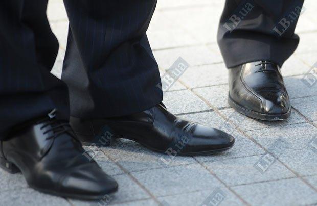 ... а так - туфли украинских чиновников