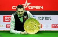 Снукер. Селбі вперше виграв турнір у Китаї