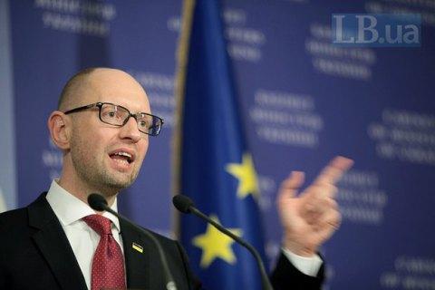Яценюк: Украина полностью независима от России