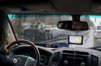 СММ ОБСЕ опубликовала фото прибывшей в Луганск колонны военной техники