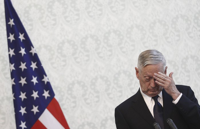 Министр обороны США Джеймс Маттис