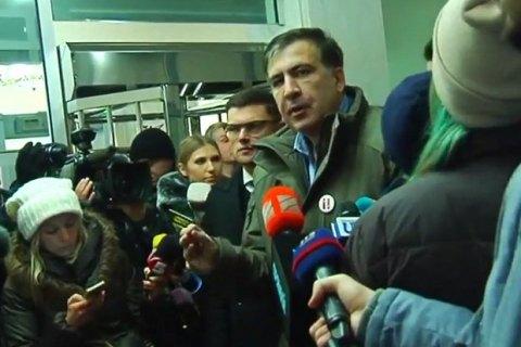 Саакашвілі взяв паузу в масових протестах на новорічні свята