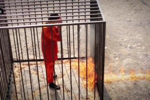Бойовики ІД живцем спалили йорданського пілота