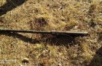 Прикордонники Луганського загону знайшли у лісі кулемет
